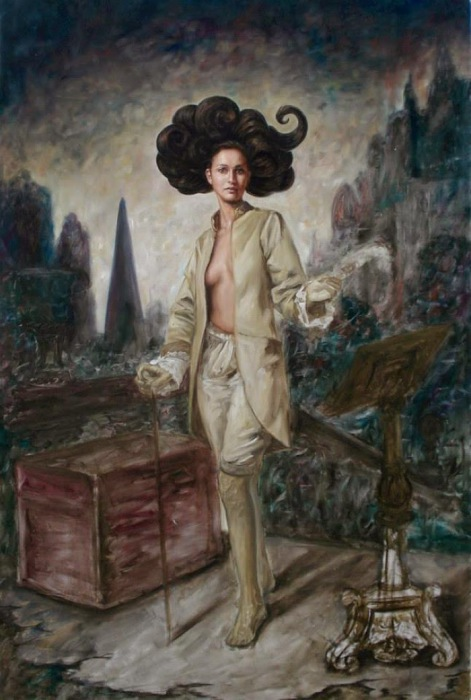 Странница. Работы современного художника Хосе Парра (Jose Parra).