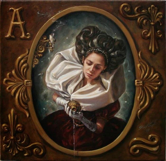 Портрет. Работы современного художника Хосе Парра (Jose Parra).