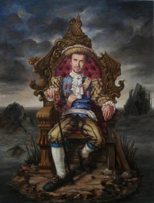 Творчество современного художника Хосе Парра (Jose Parra).