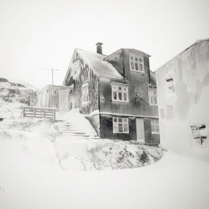 Исландский дом. Автор: Josef Hoflehner.