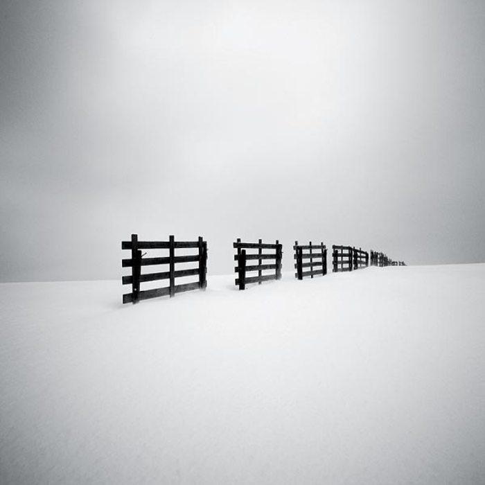 Снимок из серии «Снежные пейзажи». Автор: Josef Hoflehner.