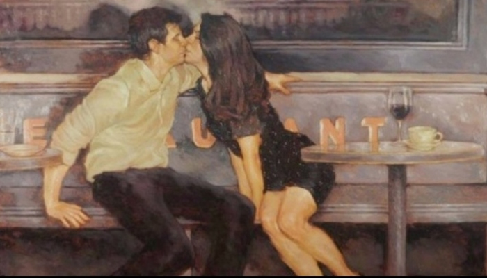 Joseph Lorusso - художник, который рисует любовь.