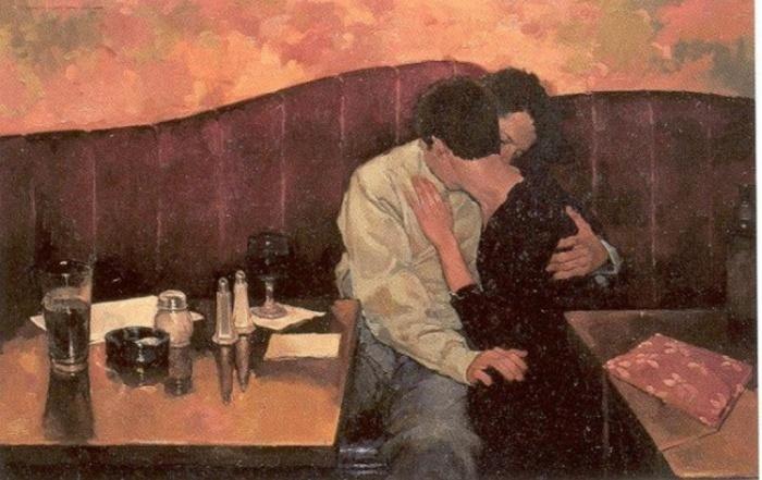 Два одиночества. Автор: Joseph Lorusso.
