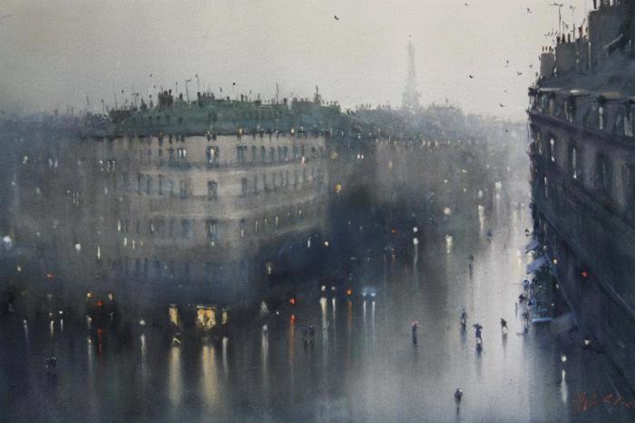 Дождь. Автор: Joseph Zbukvic.