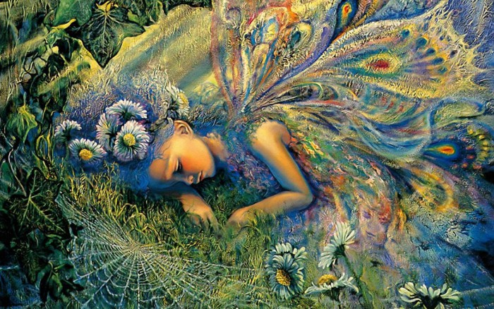 Тихие сны. Автор: Josephine Wall.