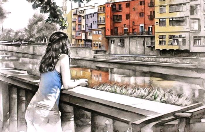 Глядя на воду. Автор: Juan Mir.