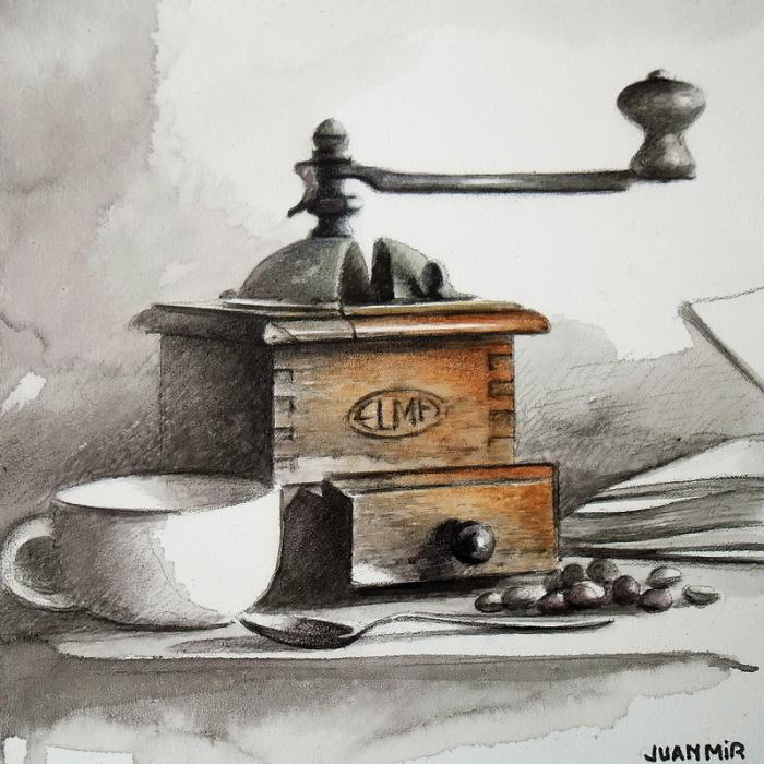 Кофемолка. Автор: Juan Mir.