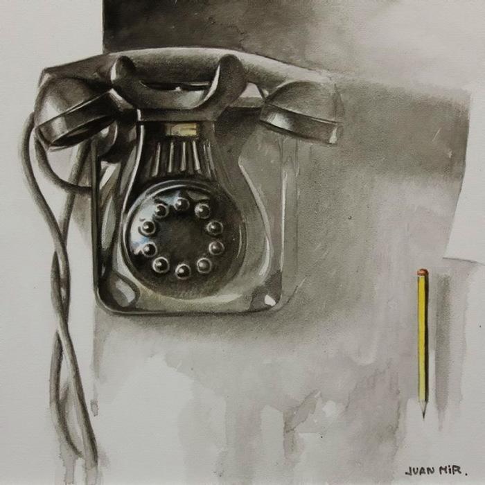 Телефон. Автор: Juan Mir.