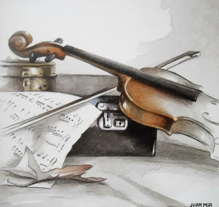 Скрипка. Автор: Juan Mir.