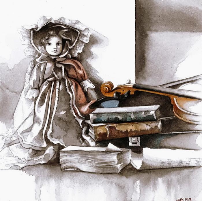 Кукла. Автор: Juan Mir.