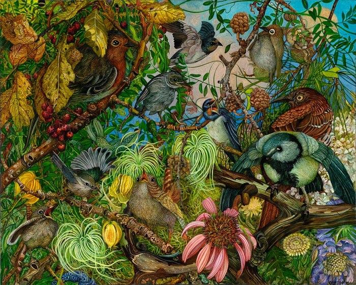 Волшебный сад. Автор: Judy Garfin.