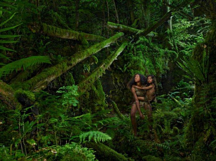 Древесные люди - Камала и Амала, Индия 1920 год.