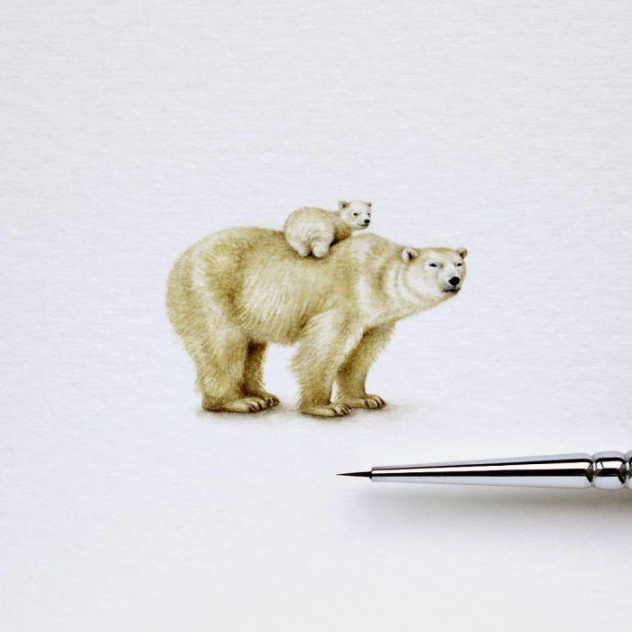 Белые медведи. Автор: Julia Las.