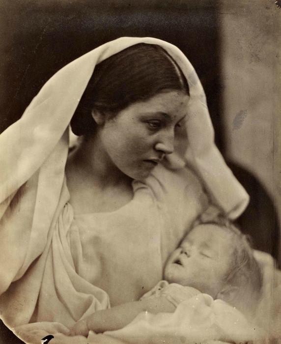 Младенец. Автор: Julia Margaret Cameron.