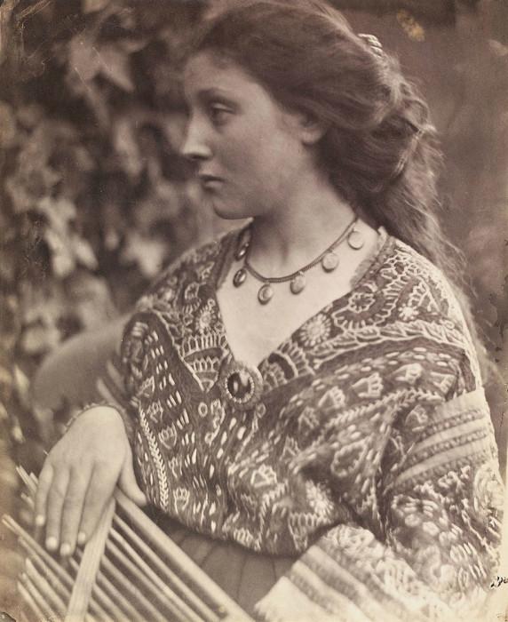 Портрет женщины. Автор: Julia Margaret Cameron.