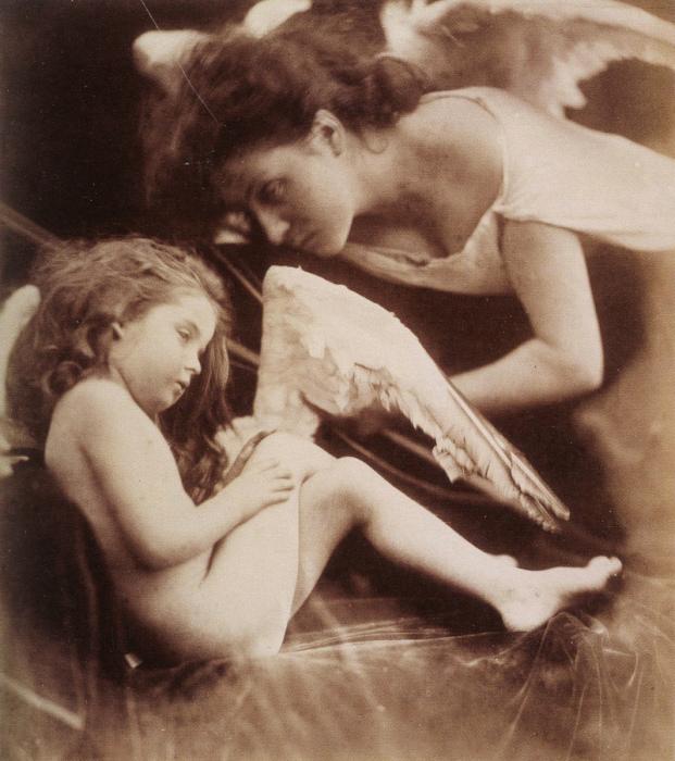 Маленький ангел. Автор: Julia Margaret Cameron.