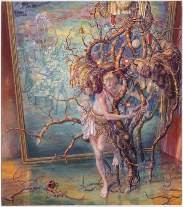 Прорастая корнями. Автор: Julie Heffernan.