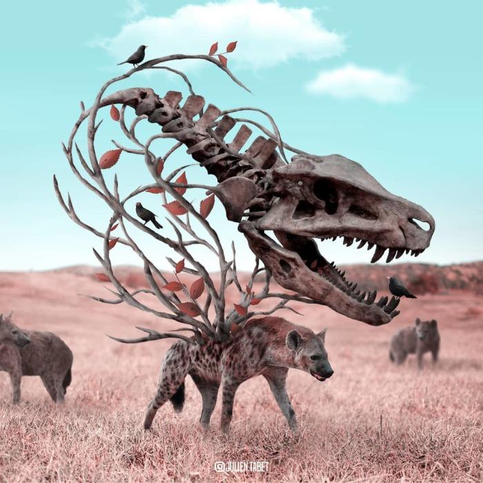 Доисторический зоопарк. Автор: Julien Tabet.