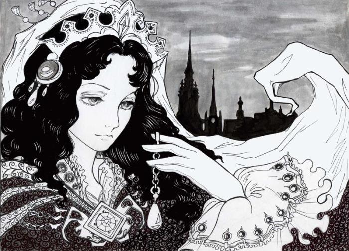 Императрица. Волшебные рисунки художника Julliane.
