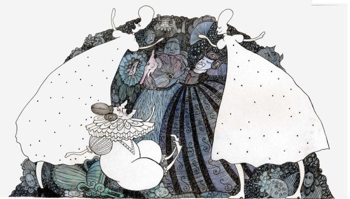 Цветы. Волшебные рисунки художника Julliane.