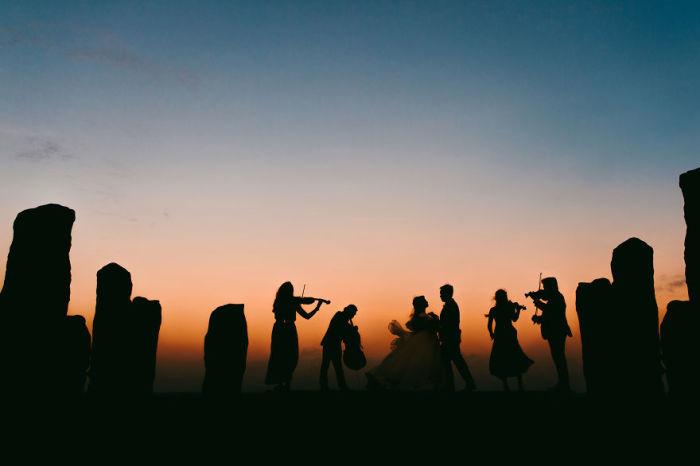 Свадебная симфония. Автор: Kadek Artayasa.
