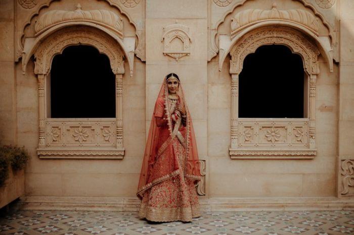 Роскошная индийская невеста.