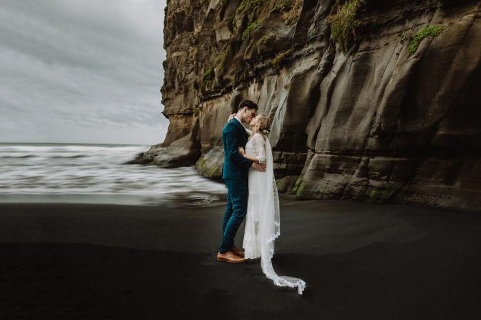 Залив Маори, Окленд, Новая Зеландия.