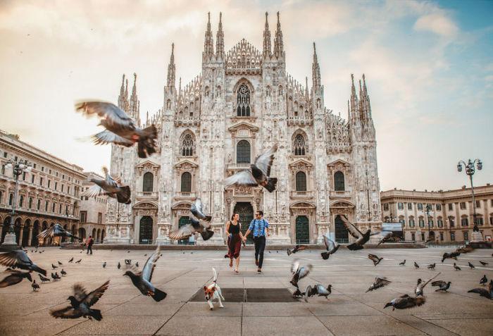 Милан, Италия.