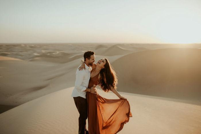 Имперские песчаные дюны, Калифорния, США.