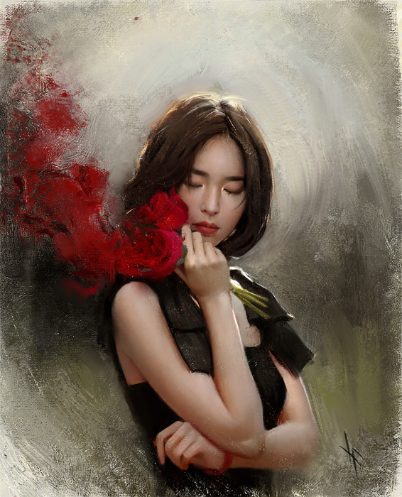 Прекрасная Юн Сун Янг. Автор: Justine Florentino.
