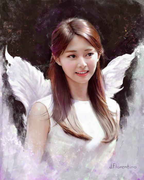 Улыбка ангела. Автор: Justine Florentino.