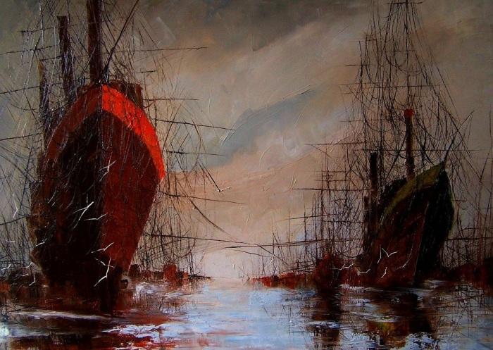 Одинокие корабли. Justyna Kopania.