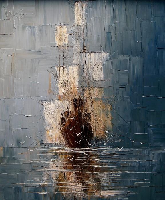 Белые паруса. Justyna Kopania.