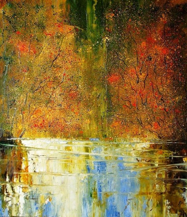 Осень золотая. Автор: Justyna Kopania.