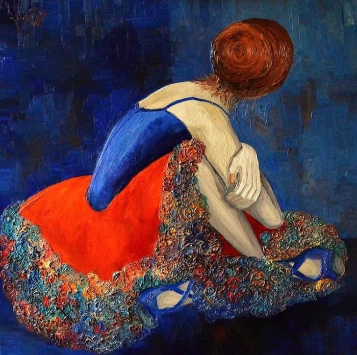 Балерина. Автор: Justyna Kopania.