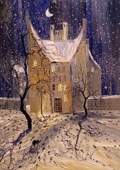 Снег. Автор: Justyna Kopania.