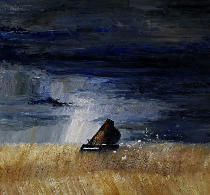 Одинокая мелодия. Автор: Justyna Kopania.