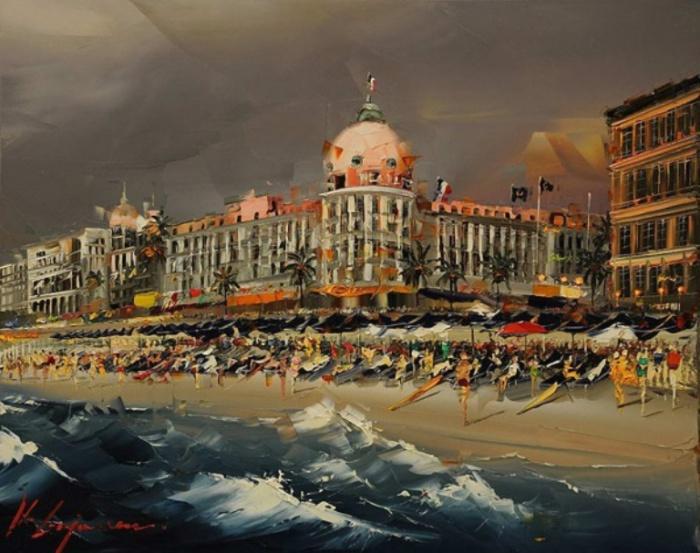 Работы ливийского художника Кала Гаджума (Kal Gajoum).