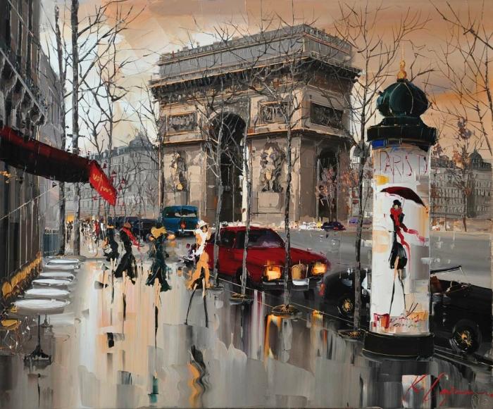 После дождя. Автор: Kal Gajoum.