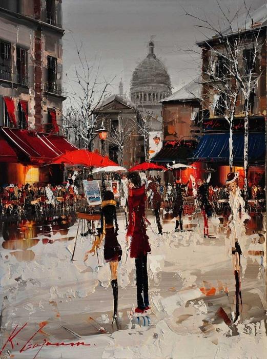 Художник, что рисует... Автор: Kal Gajoum.