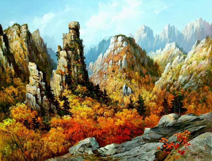 Воспевая красоту родного края. Автор: Kang Jung Ho.