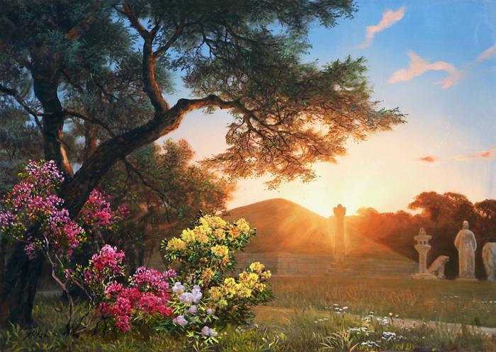 Солнечный свет. Автор: Kang Jung Ho.