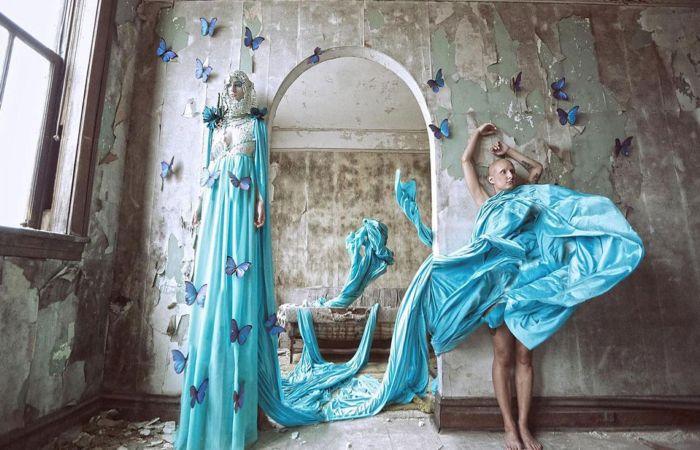 Эффект бабочки. Автор: Karen Jerzyk.