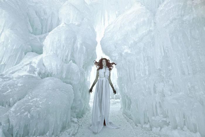 Снежное царство. Автор: Karen Jerzyk.