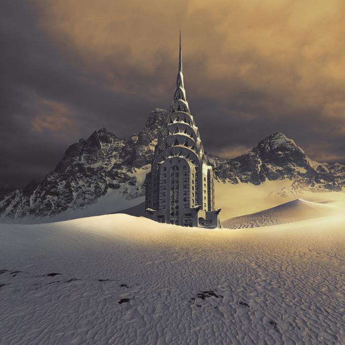 Вечная мерзлота. Автор фотоиллюстрации: Karezoid Michal Karcz.