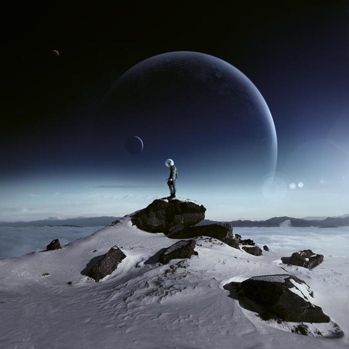 На краю чужой вселенной. Автор фотоиллюстрации: Karezoid Michal Karcz.
