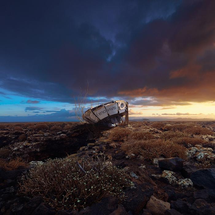 Возможная планета. Автор фотоиллюстрации: Karezoid Michal Karcz.