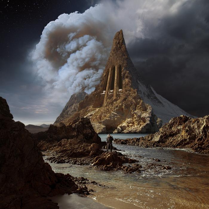 Темная башня.  Автор фотоиллюстрации: Karezoid Michal Karcz.