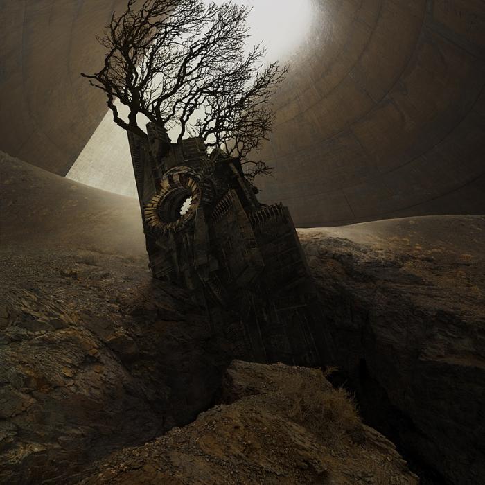 Древнее. Автор фотоиллюстрации: Karezoid Michal Karcz.