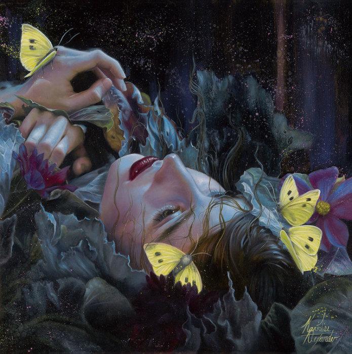 Ручей. Автор: Kari-Lise Alexander.